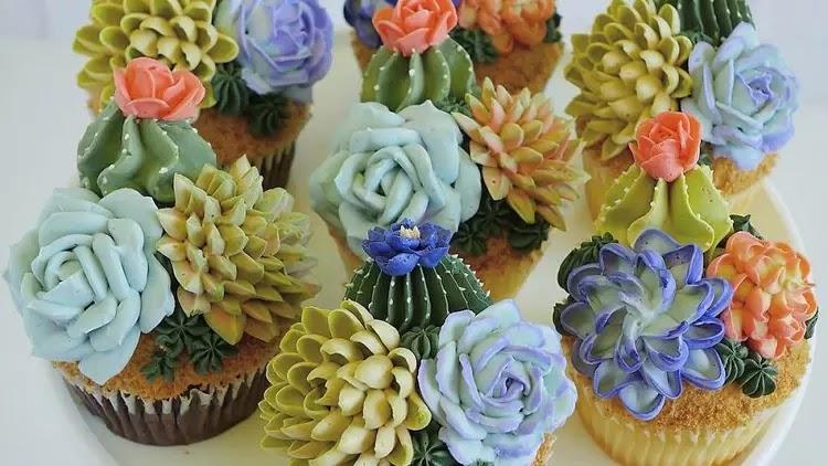 Kue Bentuk Tanaman Ini Jadi Inspirasi Kue Pernikahan