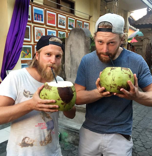 Kokosnuss in Ubud
