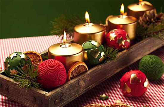 Tradiciones ecuador noticias noticias de ecuador y del for Adornos navidenos con copas y velas