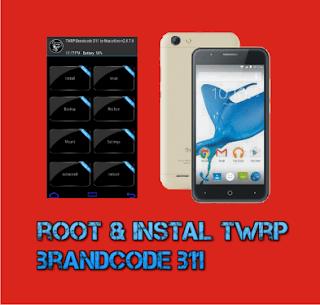 Cara Root dan Pasang Twrp Brandcode B11 Marshmallow - Yabs69.com