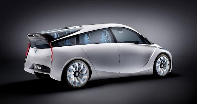 2012 Toyota FT-Bh concept car