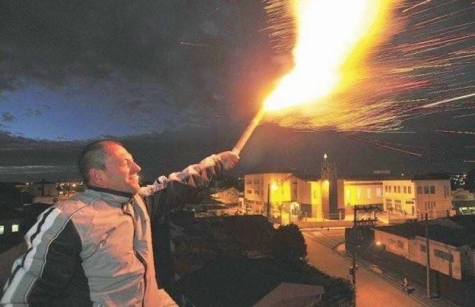 Soltar fogos de artifício com ruído pode gerar multa de até R$ 10 mil durante a Virada