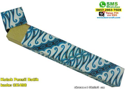 Kotak Pensil Batik