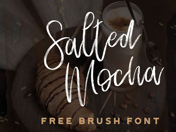 Salted Mocha Brush Script Font Free Download
