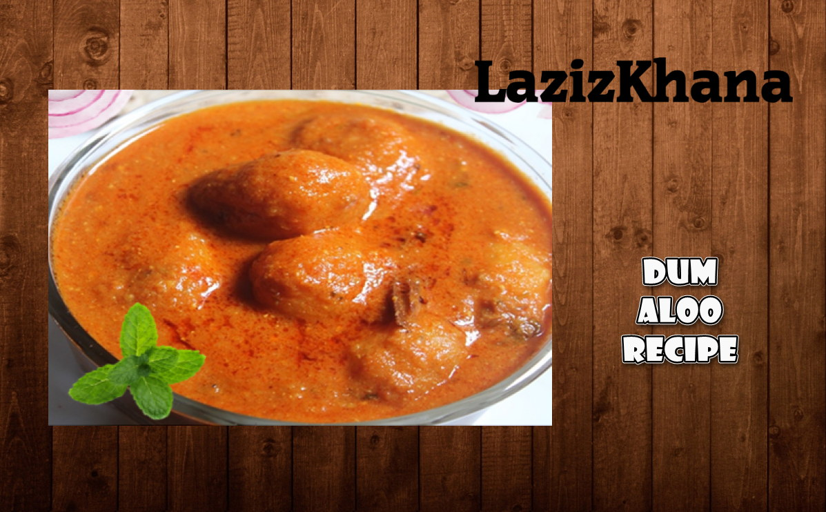 Kashmiri Dum Aloo Recipe in Roman English - Kashmiri Dum Aloo Banane ka Tarika