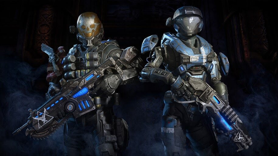 Gears 5 Halo Reach Character Pack 8k Wallpaper 3 733