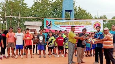 Peningkatan SDM dan Pembinaan Olahraga, Kartar Kerek Sasar Atlet Muda Bola Voli
