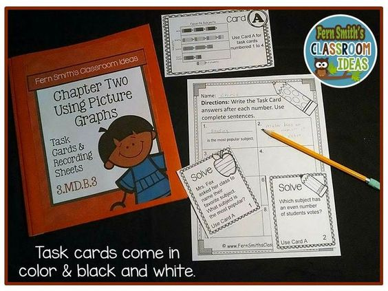 Lessons and Resources for Teaching Third Grade Go Math Chapter Two Lesson 2.2 Using Picture Graphs