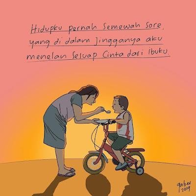 Ibu Adalah Makhluq Berhati Lembut Tetapi Tetap Tangguh Mengemban Beban, Karena Ibu Kita Bisa Di Dunia Ini