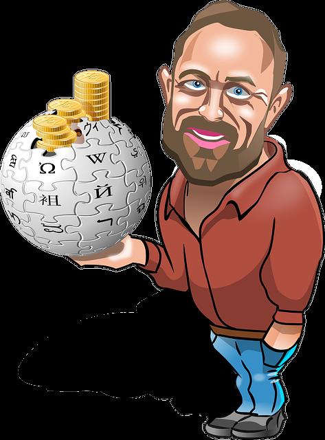 Darimana Sumber pendapatan Wikipedia ?