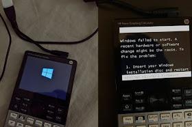 مبرمج يتمكن من تشغيل Windows 10 على آلة حاسبة هندسية 😀