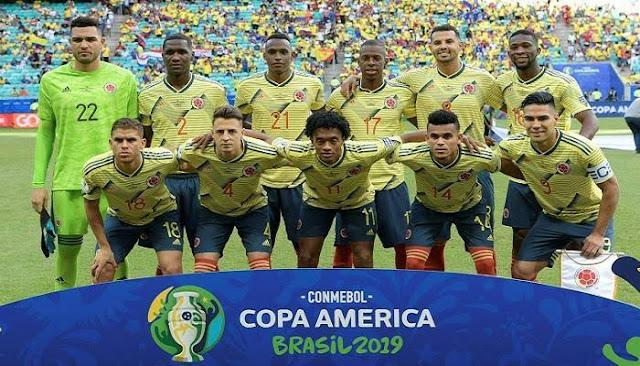 تشكيل منتخب كولومبيا فى كوبا امريكا2019 عبر سوفت سلاش