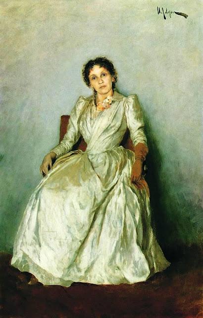Исаак Ильич Левитан - Портрет Софьи Петровны Кувшинниковой. 1888