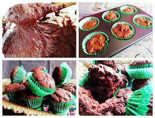 Шоколадови мъфини с масло и зехтин - рецепта