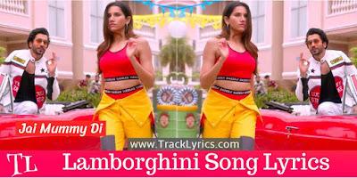 lamborghini-lyrics