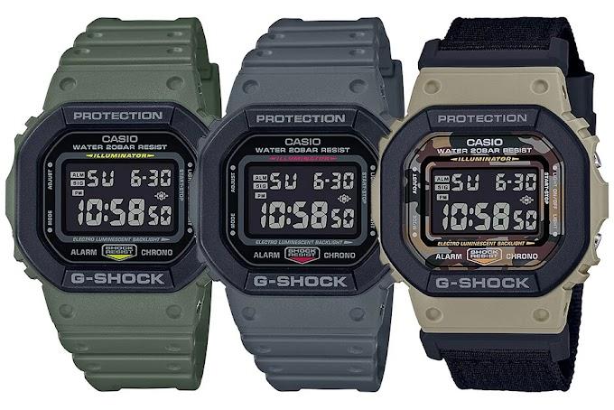 G-Shock เหลี่ยมมาใหม่เท่ห์ๆ DW-5610 Series