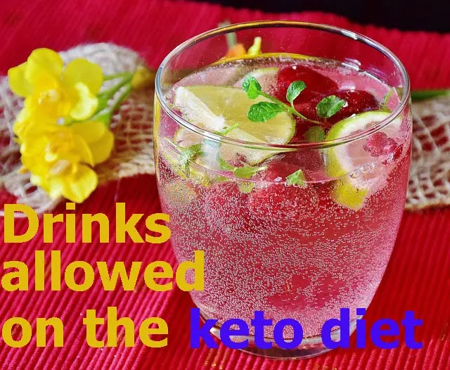 Drinks allowed on the keto diet