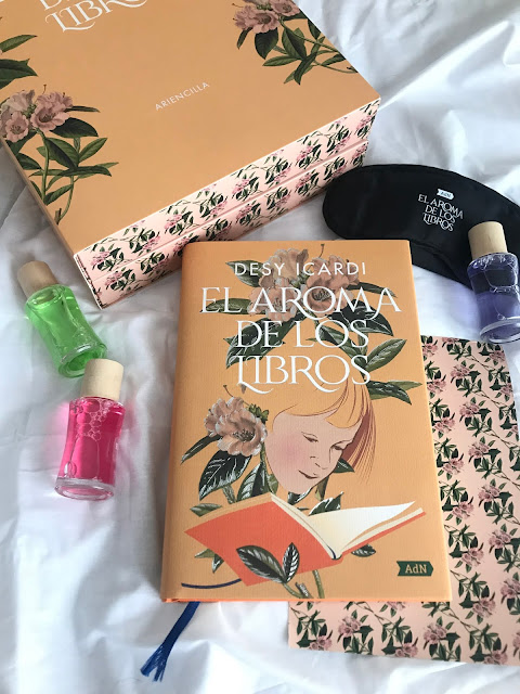 Reseña literaria El aroma de los libros de Desi Icardi