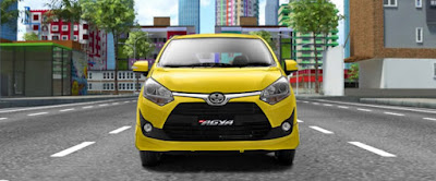 Price List Kredit Promo Toyota Agya 2018