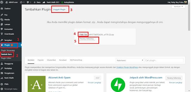 Instal Plugin AMP Auto Ads