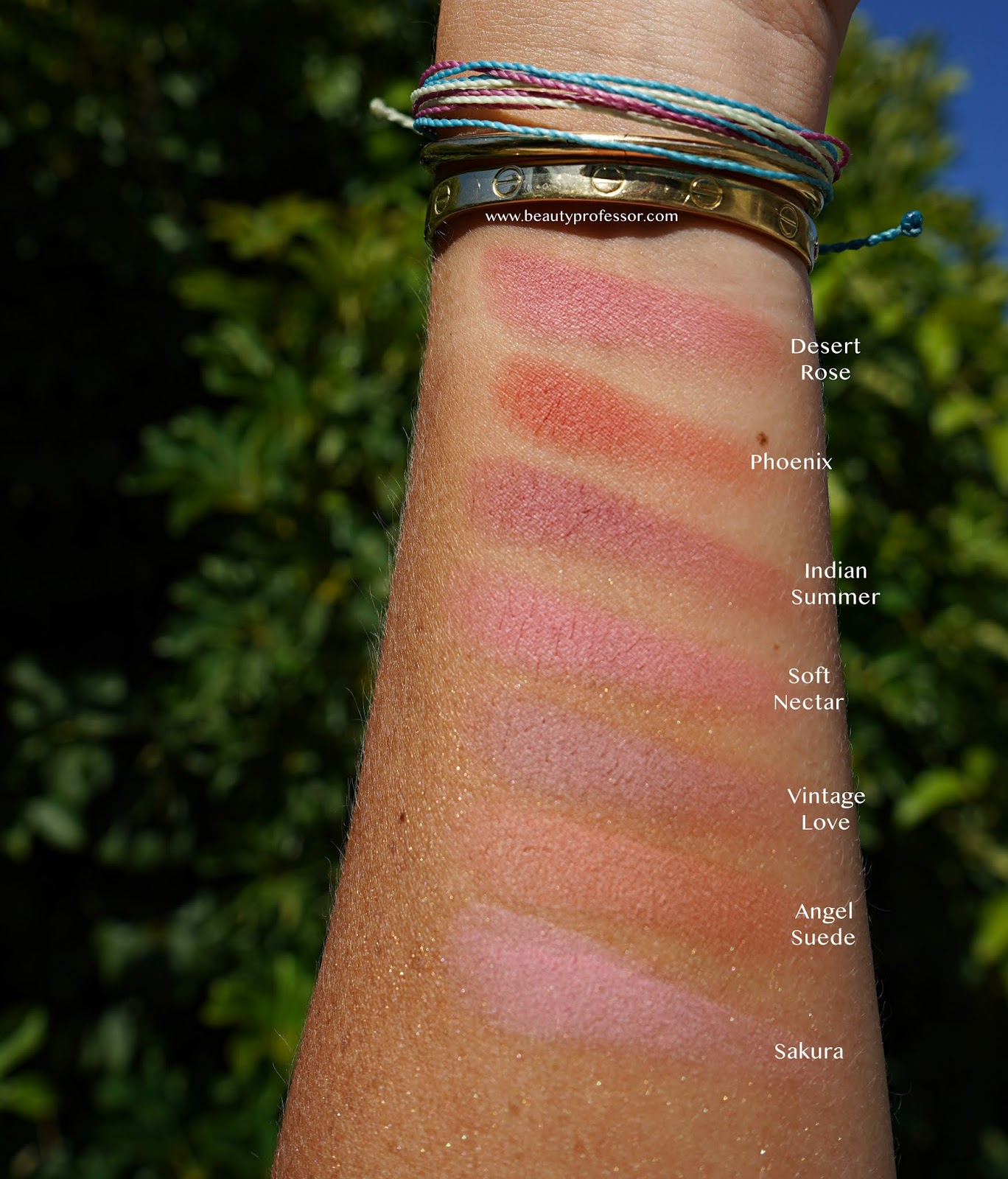 lawless make me blush blush swatches