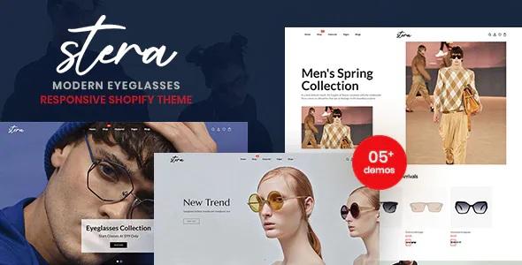 Best Modern Eye Glasses Responsive Shopify Theme