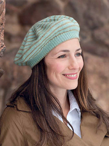 4f279cb2f1d Jocelyn Tunney designed this clever cable hat. It s adorable and simple  with the interesting cable feature that makes you take a second (or third)  glance.