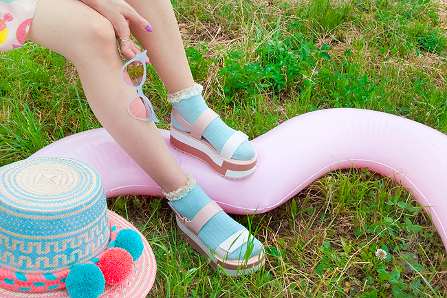 Swissfashionblogger, Zaxy shoes, summer shoes
