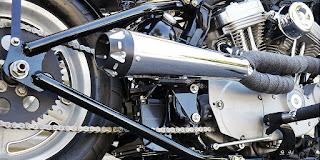 sportster bobber kit ryca motors exhaust