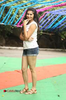 Actress Vyoma Nandi  Pictures in Shorts at Haritha Haram Event  0218.JPG