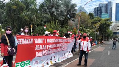 PGN-Forsatu Demo Tolak KAMI