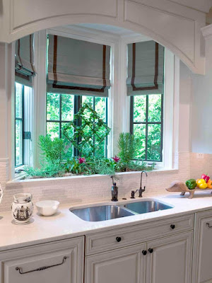 kitchen plans with bay windows