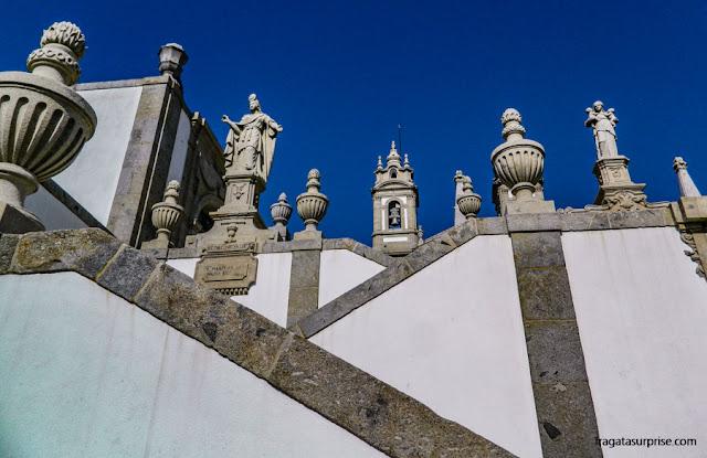 Escadaria do Santuário de Bom Jesus do Monte, Braga, Portugal