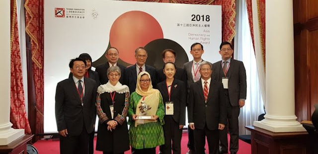 Gusdurian Raih Penghargaan Asia Democracy and Human Rights Award 2018