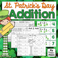 St. Patrick's Day Addition is a TPT resource from My Happy Place