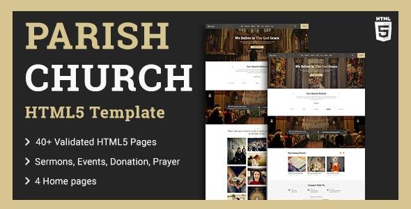 Church HTML5 Template