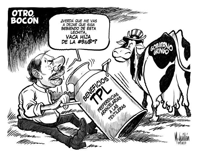 """EL FANTASMA: Daniel Ortega juega con el """"tigre de papel"""""""