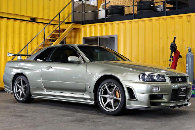 2002 NISSAN SKYLINE GT-R M Spec NUR for sale