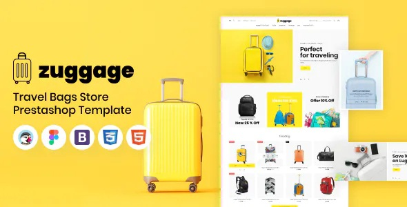 Best Travel Bags Store PrestaShop Theme