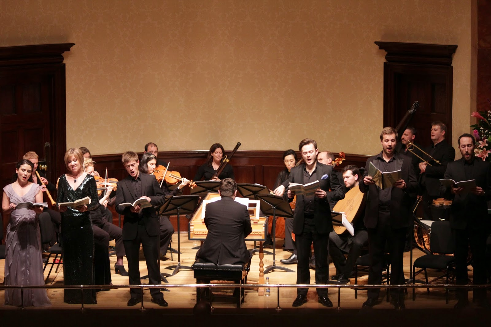 Early Opera Company perform Purcell 'King Arthur' at Wigmore Hall. Photo credit Charlotte Burke