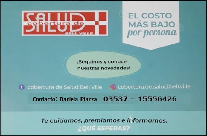 ESPACIO PUBLICITARIO: COBERTURA SALUD BELL VILLE