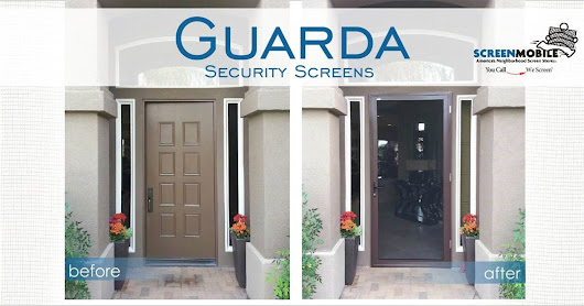 Guarda Security Screens by Screenmobile