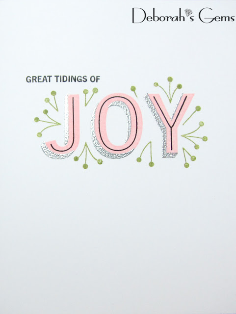 Great Tidings of Joy - photo by Deborah Frings - Deborah's Gems