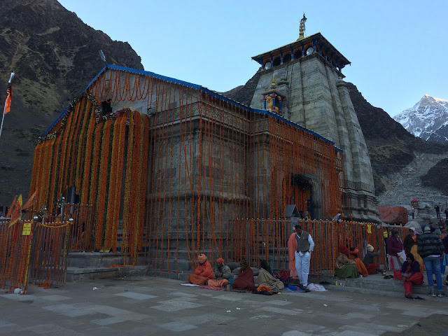 Kedarnath Temple architecture