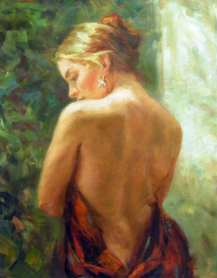Miriam Briks | Polish Born American Figurative Painter | 1957