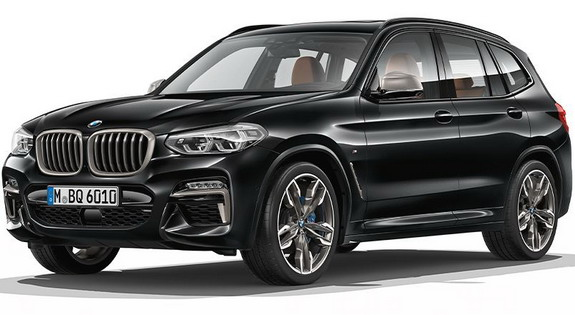 2018 bmw x3 first official photos and details of all new. Black Bedroom Furniture Sets. Home Design Ideas