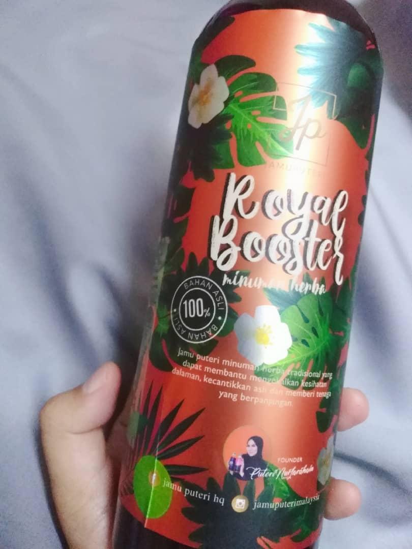 Jus Minuman Herba Jamu Puteri Viral