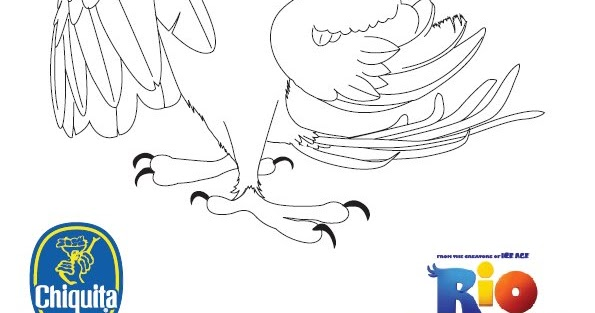 Coloring Amp Activity Pages Jewel From Quot Rio Quot Coloring Page