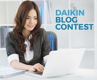 Lomba Blog Daikin Hadiah Pertama 7 Juta