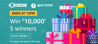 Amazon Quiz 10 October 2019